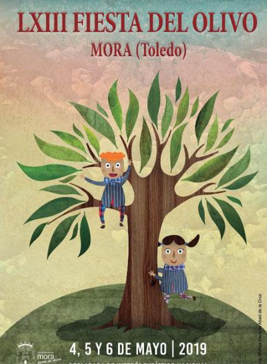 Cartel y programa de la Fiesta del Olivo 2016 en Mora