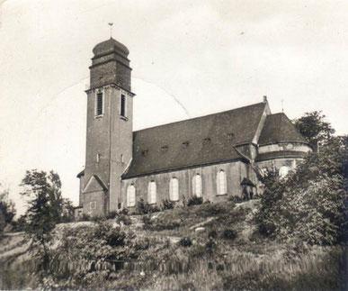 Die neue Katholische Pfarrkirche, Foto: Franz Hahn