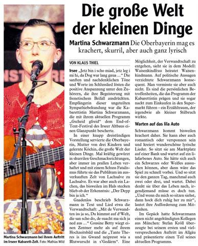 Kleinkunstverein-Altbau e.V. - Martina Schwarzmann