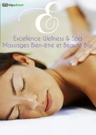 Excellence Wellness & Spa Centre de Relaxation Bien-être et Beauté Bio avec Boutique en ligne de Cosmétiques Biologiques à Biarritz, Anglet, Bayonne. Produits de beauté bio.