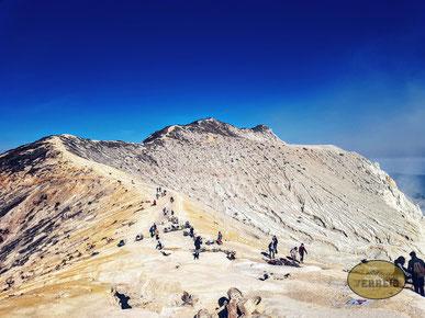 Krater vom Ijen