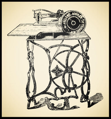 Thomas  type - Sellers' sewing machine