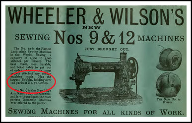 1889  Sewing Machine Gazette