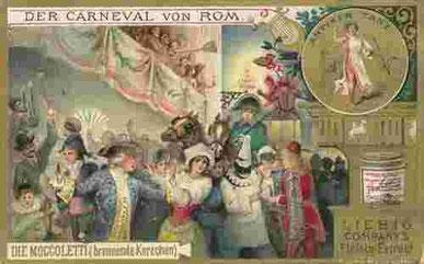 Römischer Karneval - Moccoli