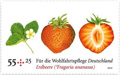 Deitsche Briefmarke aus dem Jahre 2010