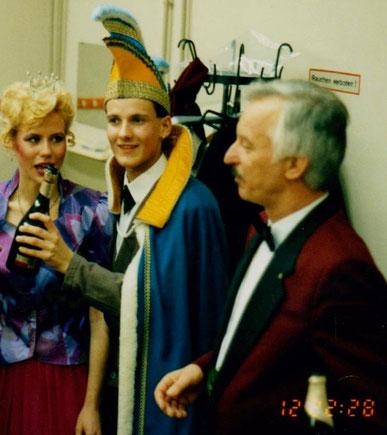 mit Prinzessin Jeanette Propp & Prinz Sebastian Ludwig