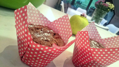 Apfel Zimt Muffins Lowcarb Cleaneating Kokosmehl Kokosöl