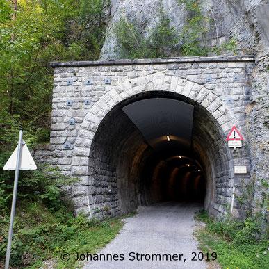 Dickenauer Tunnel im Jahr 2019