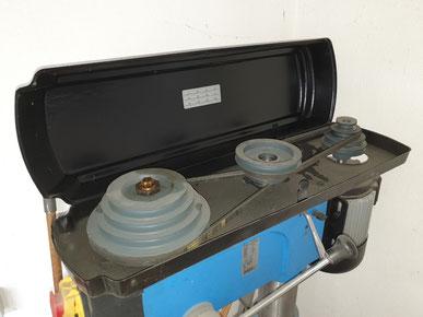 Zweistufiges Getriebe Säulenbohrmaschine