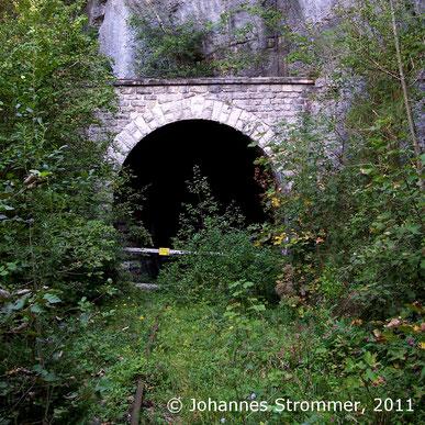 Dickenauer Tunnel im Jahr 2011