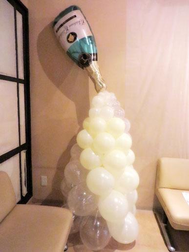 バルーンコラム 風船 誕生日 発表会 ライブ イベント装飾 開店祝い お祝い