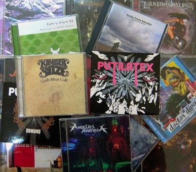 Discos editados con MOLUSCO DISCOS desde 2005