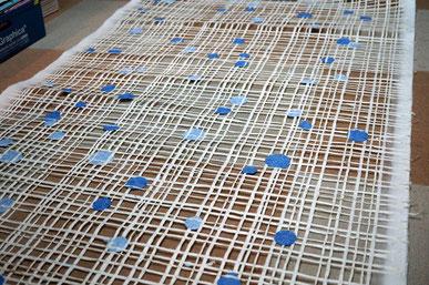 フランス・パリで開催のメゾン・エ・オブジェに出展した商空間を演出する手漉きの襖紙