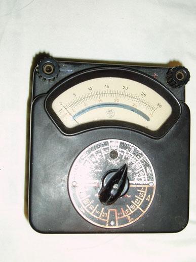 RFT Gerätewerk Chemnitz DDR  Multimeter Typ. Multizet