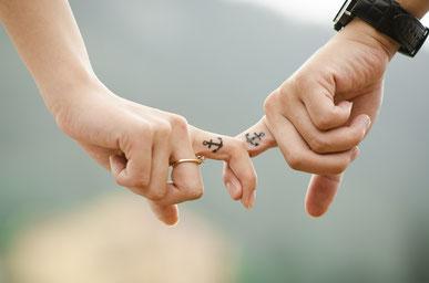 Paar, Liebe, Weg