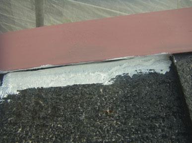 屋根塗装における防水処理 熊本〇様家。