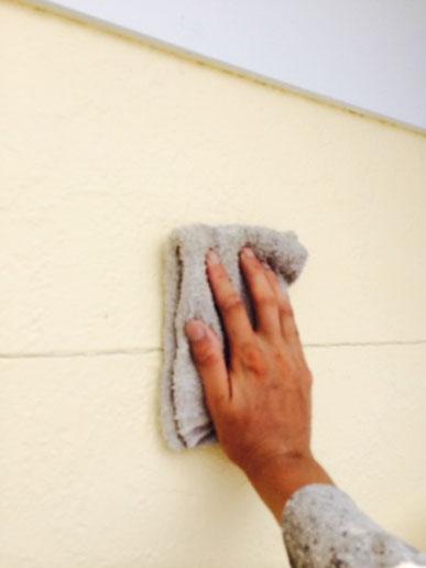 家の塗り替えにおける外壁チョーキング対策 熊本〇様家