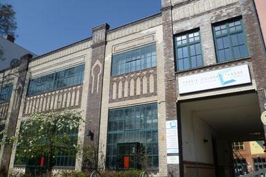 Osloer Str.12, ehemalige Montagehalle & Einfahrt, © Diana Schaal