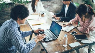 シェアオフィス/多様な働き方をサポート