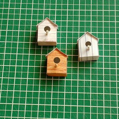 Miniatur Vogelhäuschen