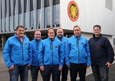 Peter Erhard, Bernhard Schaufelberger, Christian Tschabold, Franz Nussbaum, Adrian König, Esther Wildi