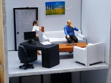 MKD Figurenland, Büro
