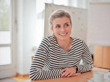 Sarah Haurand, Leiterin für den Bereich Pflegekinder im Kastanienhof