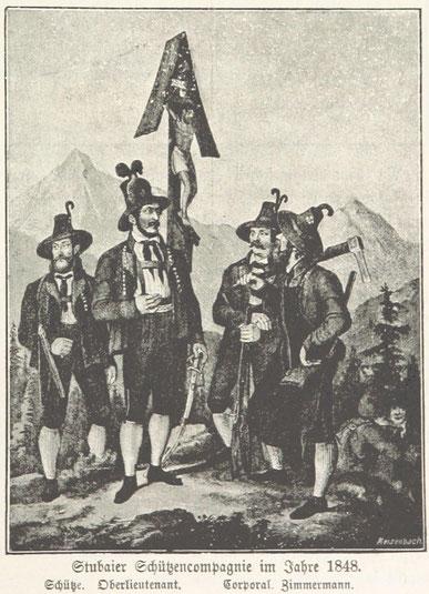 Tiroler Schützenkompagnie 1848