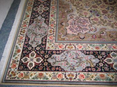 Teppichreinigung-mueden.de, Leistungen, Bild Teppich verfärbt