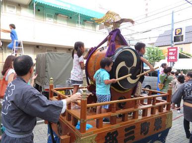 江古田秋祭り、オイルライフ