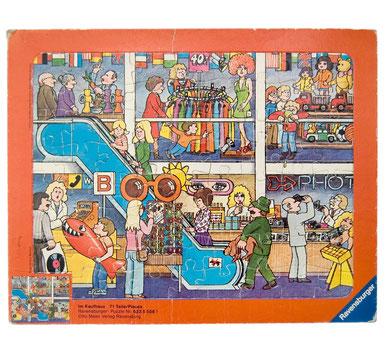 70er Ravensburger Puzzle Im Kaufhaus