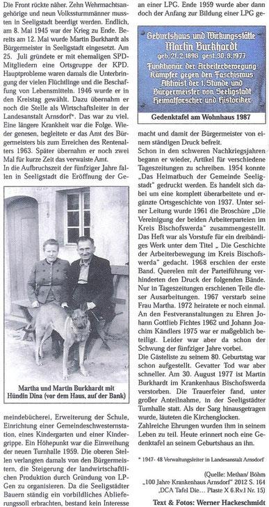 Bild: Seeligstadt Sachsen Burkhardt