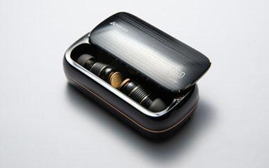 無線ピヤホン1はピチップ装着時でも充電ケース使用可