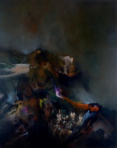 Acrylique sur toile Dim:116cmx89cm