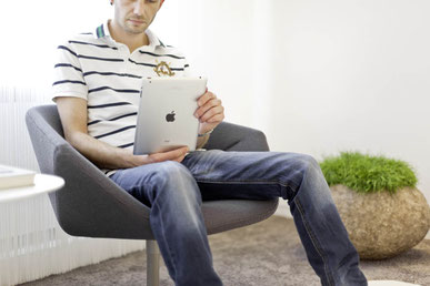 Kurzweilige Wartezeit mit WLan und iPad
