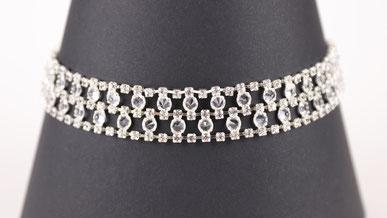 BDSM Halskette Erotik - Kristall Halsband Magnus