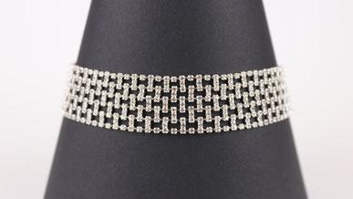 BDSM Halskette Erotik - Kristall Halsband Levis