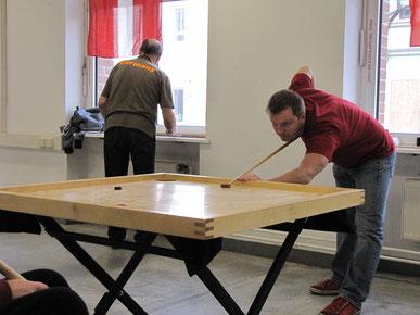 Novuss Turnier in Erlangen