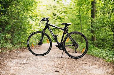 Mountainbike mit dünneren Reifen
