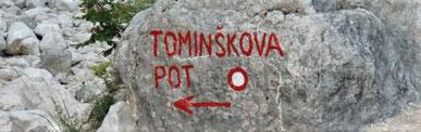Triglav, Julische Alpen, Tominsek Weg, Klettersteig