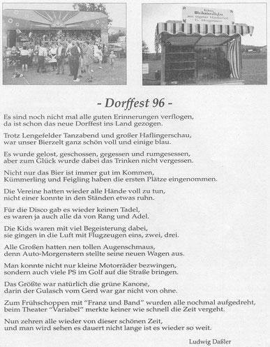 Bild: Wünschendorf Dorffest 1996