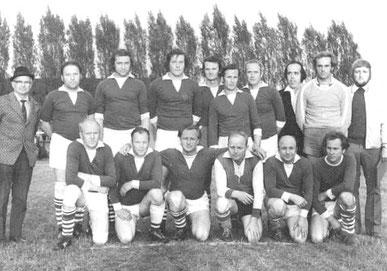Bild: Wünschendorf Erzgebirge Fußballmannschaft 1973