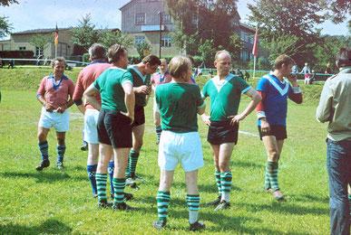 Bild: Fußball Wünschendorf 1970