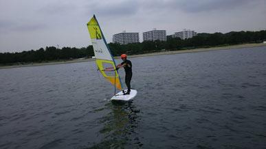 ウインドサーフィン 海の公園 SUP 横浜 神奈川