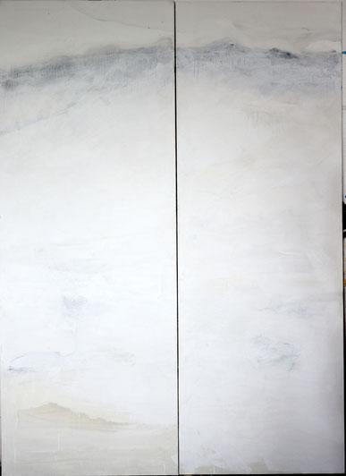 Casein on paper  87 X 65 cm