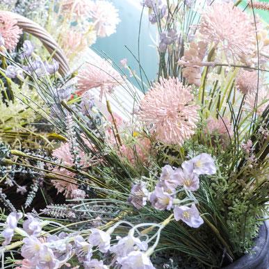 Strauß aus Kunstblumen
