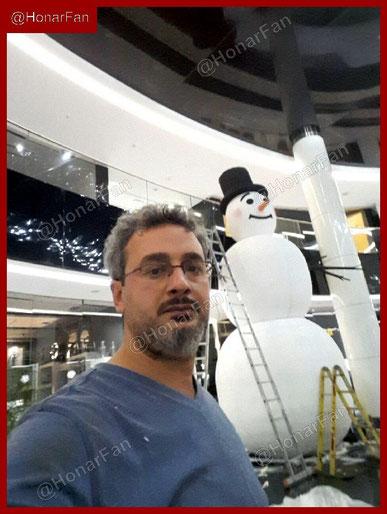 مجسمه بزرگ شهری ماکت تبلیغاتی بزرگ و عظیم ماکت سازی بهترین مجسمه ساز ایران بهترین سازنده المانهای شهری آدم برفی زمستان المان یلدا