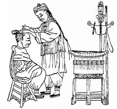 Barbier. Alphonse FAVIER (1837-1905) : Péking. Description. — Desclée de Brouwer, Paris, Lille, 1902, pages 271-408.