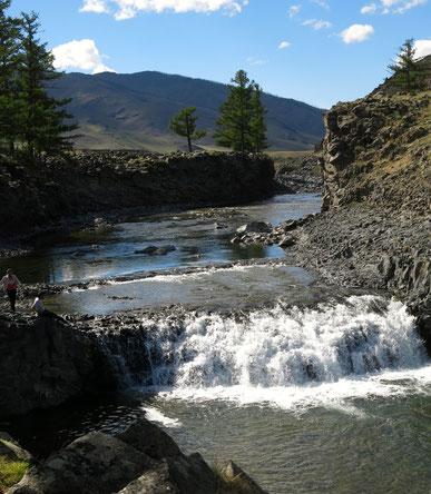 Les rivières de la vallée d'Orkhon