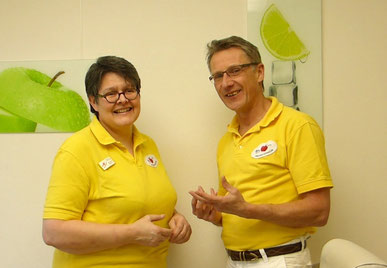 Andrea Löwe und Dr. Ingo Brandt, Zahnärzte in Verl: Professionelle Zahnreinigung (PZR)